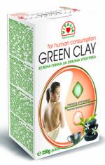 Zelena glina za oralnu upotrebu 200gr Vitalia