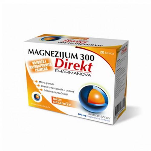 magnezijum 300 direkt 20 kesica