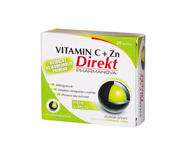 vitamin c i cink direkt 20 kesica