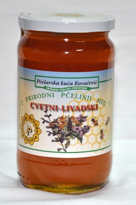 livadski cvetni med 500g kovacevic