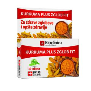 kurkuma plus zglob fit 60 tableta bioclinica