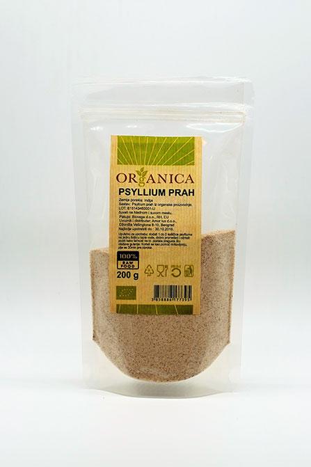psyllium prah 200g organica organski proizvod