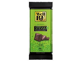 wellbe crna cokolada stevia 80g