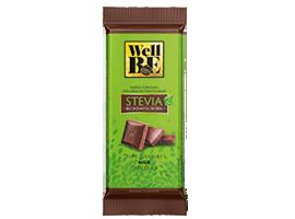 wellbe mlecna cokolada stevia 80g