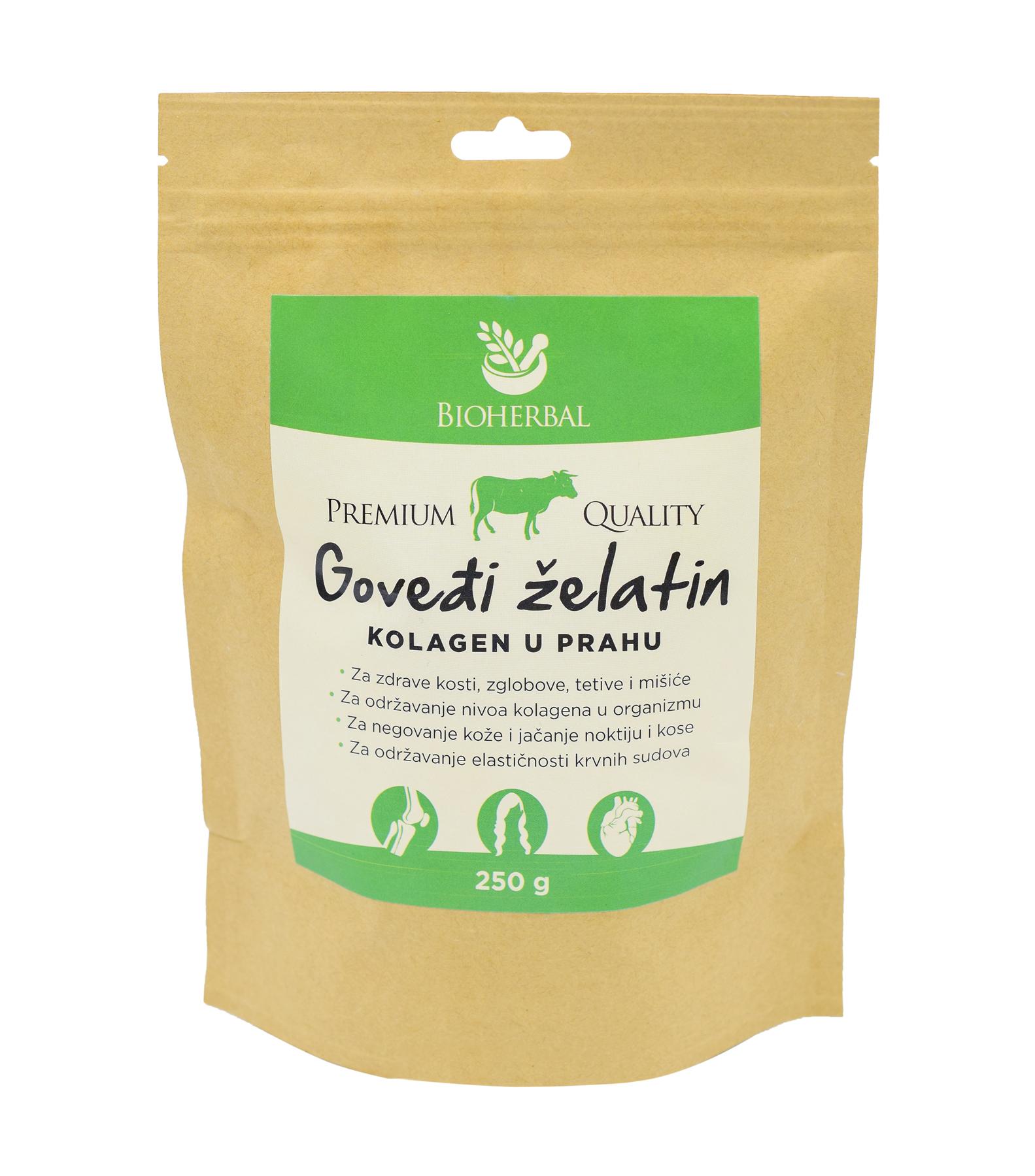zdrava hrana govedji zelatin