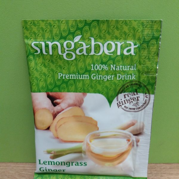 Đumbir napitak sa limunovom travom 12g For Natura