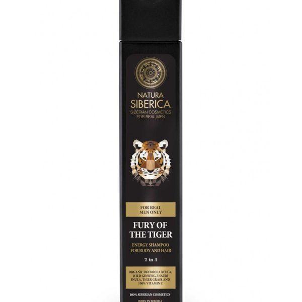 Energetski šampon za kosu i telo Bes tigra 250ml Natura Siberica