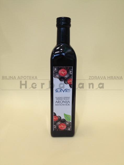 aronija maticni sok sljivko 750 ml