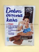 Dobra ovsena kaša sa čokoladom (4 porcije)
