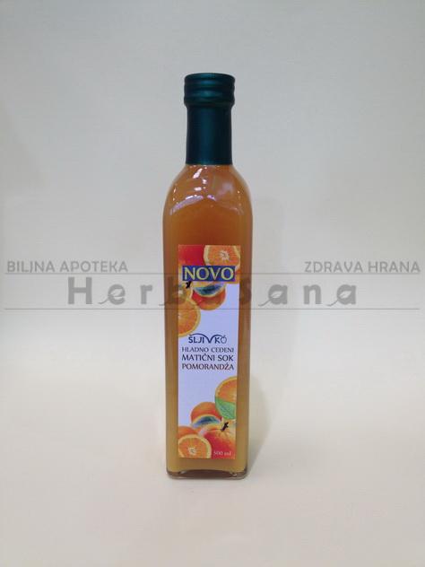 pomorandza maticni sok sljivko 500 ml