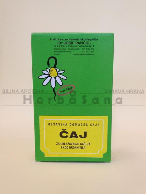 čaj br. 11 za ublažavanje kašlja i kod bronhitisa