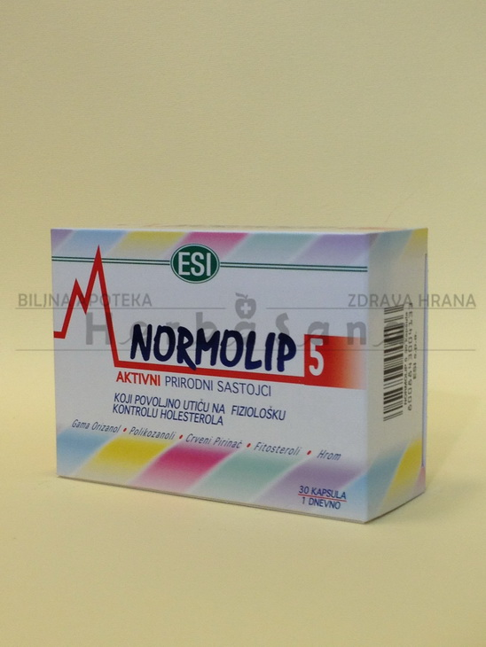 normolip 5 30 kapsula