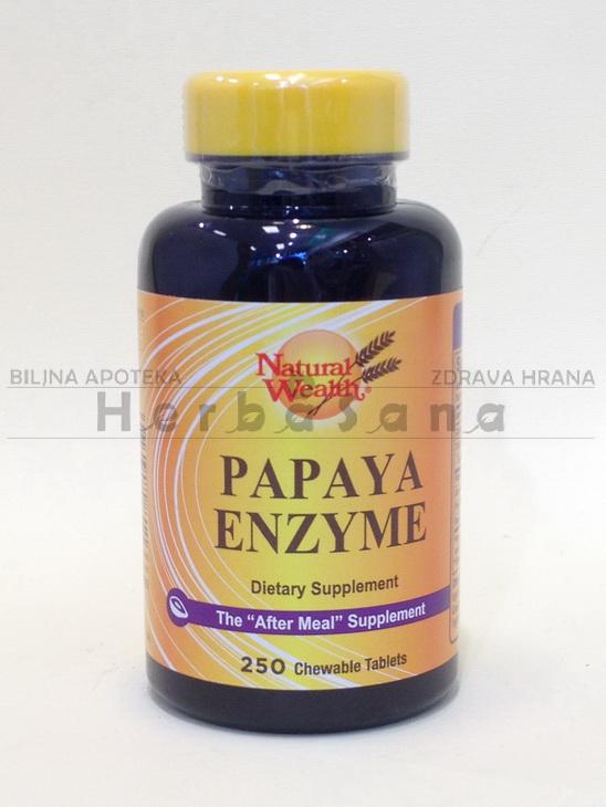 papaya enzim 250tableta