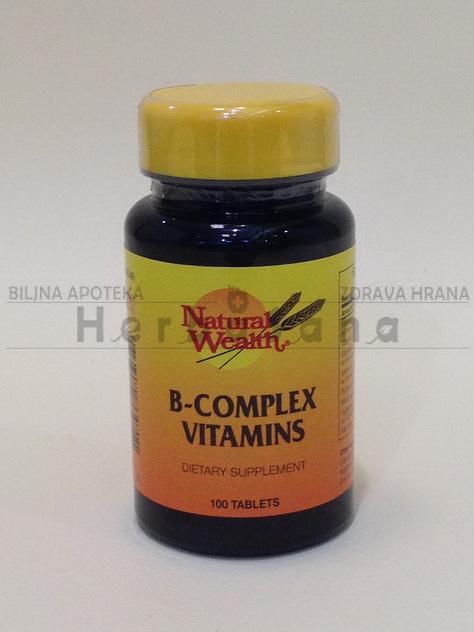 b kompleks vitamini 100 tableta