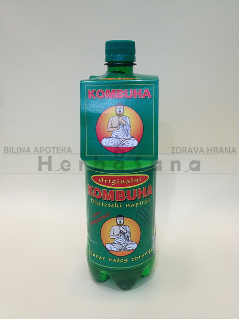 Kombuha zelena 1L Macrobiotic pharm