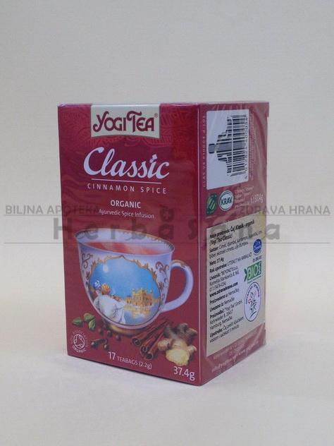 Classic čaj Yogi Tea 30,6g (organski proizvod)