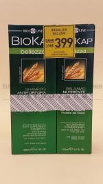 BIOKAP Šampon protiv peruti 200ml + Hranljivi balzam 125ml GRATIS