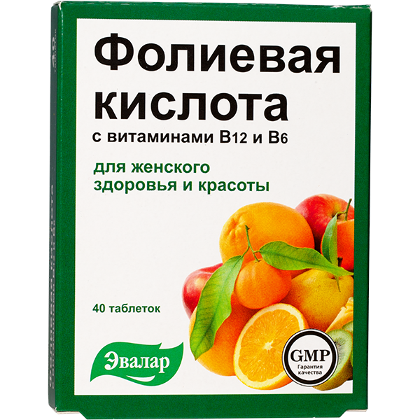 folna kiselina sa vitaminima b12 i b6 40 tableta