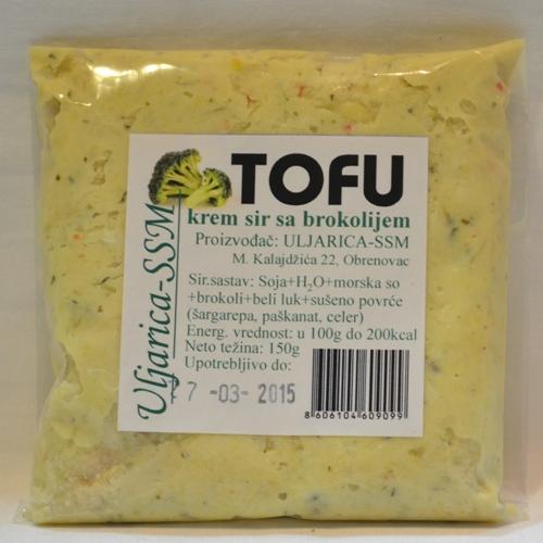 tofu krem sir sa brokolijem 150g
