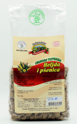 Testenina od heljde i pšenice 300g Lazarina (organski proizvod)