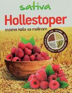 Hollestoper ovsena kaša sa malinom 2x70g