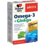 Aktiv omega 3 forte + ginko 60 kapsula