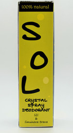 SOL crystal spray deodorant citrus 100ml