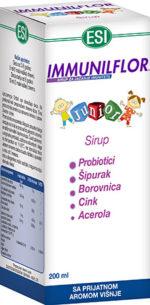 Immunilflor junior sirup 200ml ESI